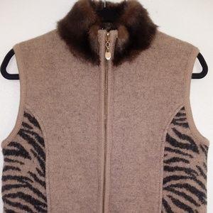 🌼Price Drop🌼Lisa International Wool Vest
